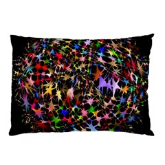 Network Integration Intertwined Pillow Case