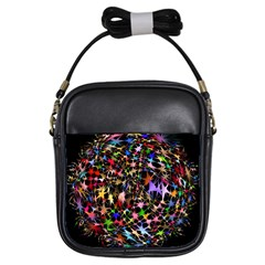 Network Integration Intertwined Girls Sling Bags