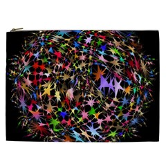 Network Integration Intertwined Cosmetic Bag (xxl)