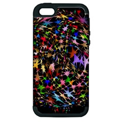 Network Integration Intertwined Apple iPhone 5 Hardshell Case (PC+Silicone)