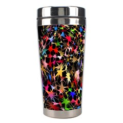 Network Integration Intertwined Stainless Steel Travel Tumblers