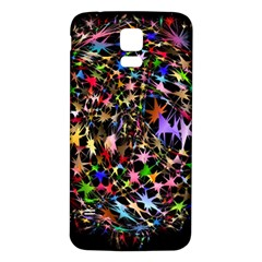 Network Integration Intertwined Samsung Galaxy S5 Back Case (white)