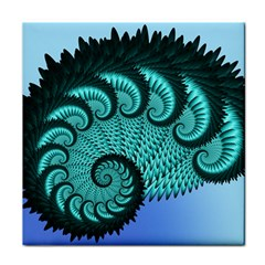 Fractals Texture Abstract Tile Coasters