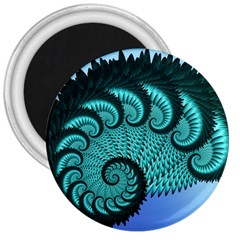 Fractals Texture Abstract 3  Magnets