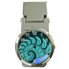 Fractals Texture Abstract Money Clip Watches