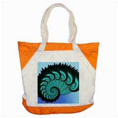 Fractals Texture Abstract Accent Tote Bag