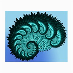 Fractals Texture Abstract Small Glasses Cloth (2 Side)