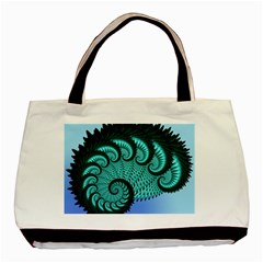 Fractals Texture Abstract Basic Tote Bag (two Sides)
