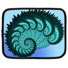 Fractals Texture Abstract Netbook Case (Large)