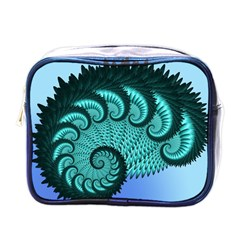 Fractals Texture Abstract Mini Toiletries Bags