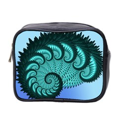 Fractals Texture Abstract Mini Toiletries Bag 2 Side