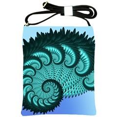 Fractals Texture Abstract Shoulder Sling Bags