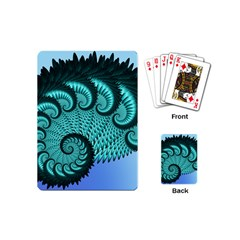 Fractals Texture Abstract Playing Cards (mini)