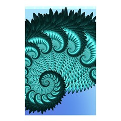 Fractals Texture Abstract Shower Curtain 48  x 72  (Small)