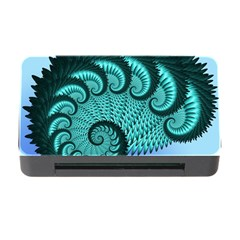 Fractals Texture Abstract Memory Card Reader With Cf
