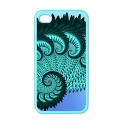 Fractals Texture Abstract Apple Iphone 4 Case (color)