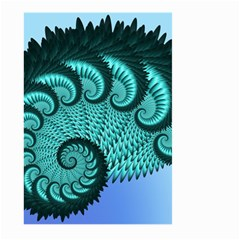 Fractals Texture Abstract Large Garden Flag (Two Sides)