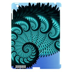Fractals Texture Abstract Apple iPad 3/4 Hardshell Case (Compatible with Smart Cover)