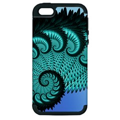 Fractals Texture Abstract Apple iPhone 5 Hardshell Case (PC+Silicone)