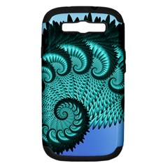 Fractals Texture Abstract Samsung Galaxy S III Hardshell Case (PC+Silicone)