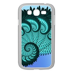 Fractals Texture Abstract Samsung Galaxy Grand Duos I9082 Case (white)