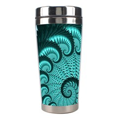 Fractals Texture Abstract Stainless Steel Travel Tumblers