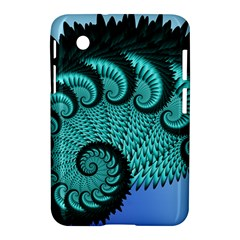Fractals Texture Abstract Samsung Galaxy Tab 2 (7 ) P3100 Hardshell Case