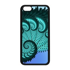 Fractals Texture Abstract Apple Iphone 5c Seamless Case (black)