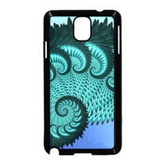 Fractals Texture Abstract Samsung Galaxy Note 3 Neo Hardshell Case (Black)