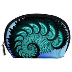 Fractals Texture Abstract Accessory Pouches (large)