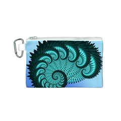 Fractals Texture Abstract Canvas Cosmetic Bag (s)