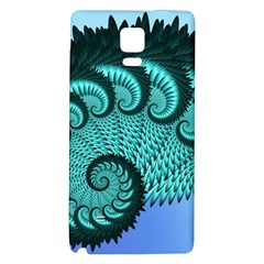 Fractals Texture Abstract Galaxy Note 4 Back Case