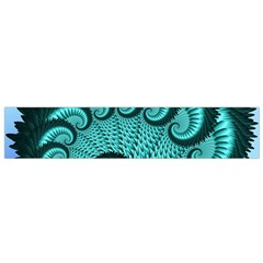 Fractals Texture Abstract Flano Scarf (Small)