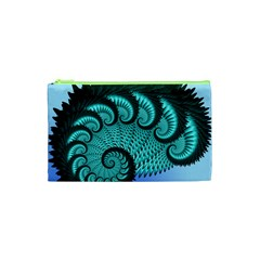 Fractals Texture Abstract Cosmetic Bag (xs)
