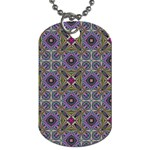 Vintage Abstract Unique Original Dog Tag (Two Sides) Front