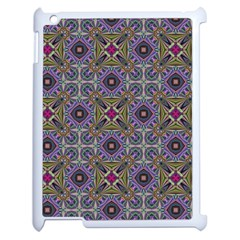 Vintage Abstract Unique Original Apple iPad 2 Case (White)