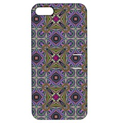 Vintage Abstract Unique Original Apple iPhone 5 Hardshell Case with Stand