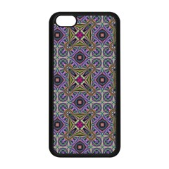 Vintage Abstract Unique Original Apple Iphone 5c Seamless Case (black)