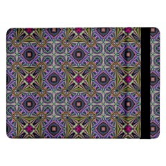 Vintage Abstract Unique Original Samsung Galaxy Tab Pro 12 2  Flip Case