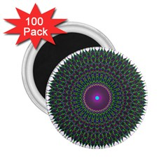 Pattern District Background 2 25  Magnets (100 Pack)