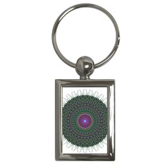 Pattern District Background Key Chains (rectangle)