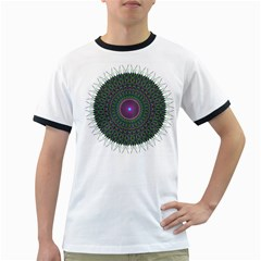 Pattern District Background Ringer T Shirts