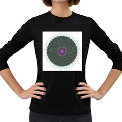 Pattern District Background Women s Long Sleeve Dark T-Shirts
