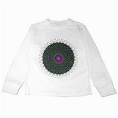 Pattern District Background Kids Long Sleeve T Shirts