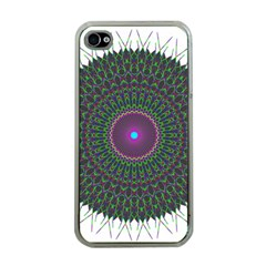 Pattern District Background Apple iPhone 4 Case (Clear)