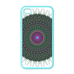 Pattern District Background Apple iPhone 4 Case (Color)