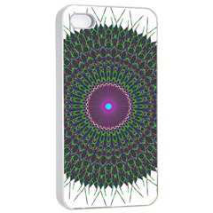 Pattern District Background Apple iPhone 4/4s Seamless Case (White)