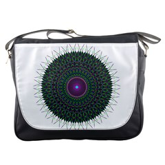 Pattern District Background Messenger Bags