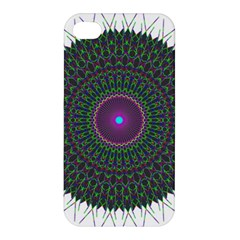 Pattern District Background Apple Iphone 4/4s Premium Hardshell Case