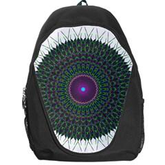 Pattern District Background Backpack Bag